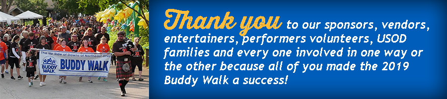2019_Buddy Walk_Thank you banner