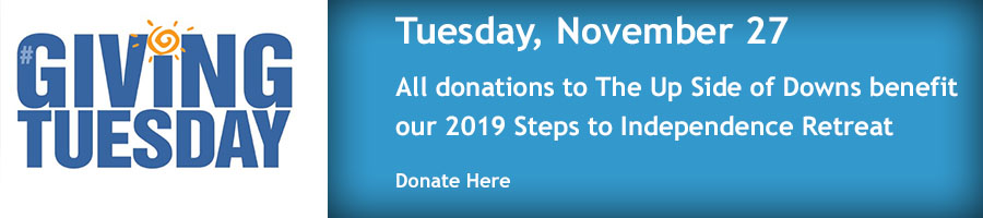 Giving Tuesday for Steps to Independence