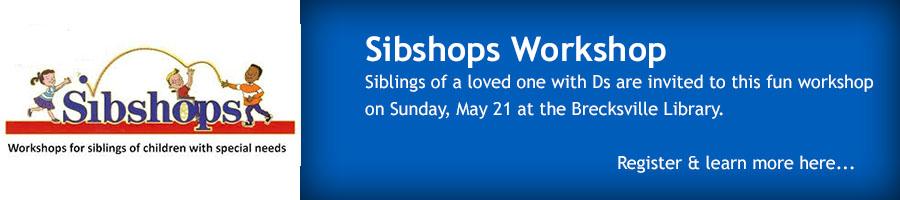 Sibshops May 2017